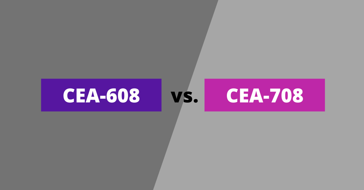 The Difference Between CEA-608 and CEA-708 Captions